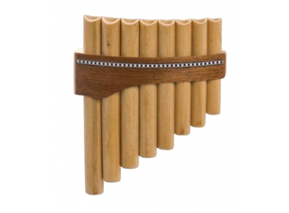 Flauta de Pan/Flauta de PAN Gewa Panpipes C- Major 8 Pipes