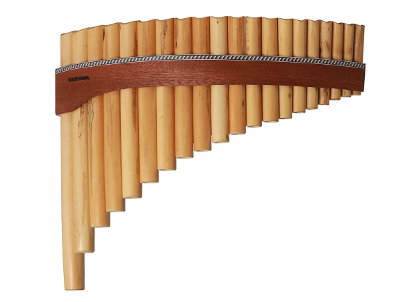 Flauta de Pan/Flauta de PAN Gewa Panpipes G-Major 18 Pipes