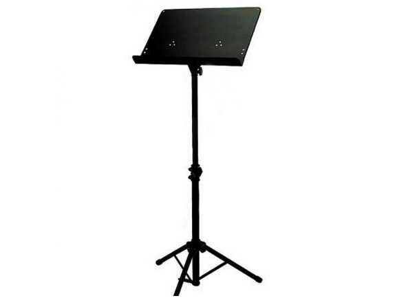 Estante para partitura/Estante para partitura Gewa Suporte de Orquestra Preto