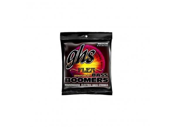 Jogo de cordas .045 para baixo elétrico de 4 cordas GHS Bass Boomers M3045F