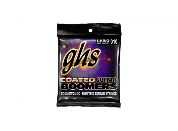 Jogo de cordas .010 GHS Coated GB TNT Boomers 010-052