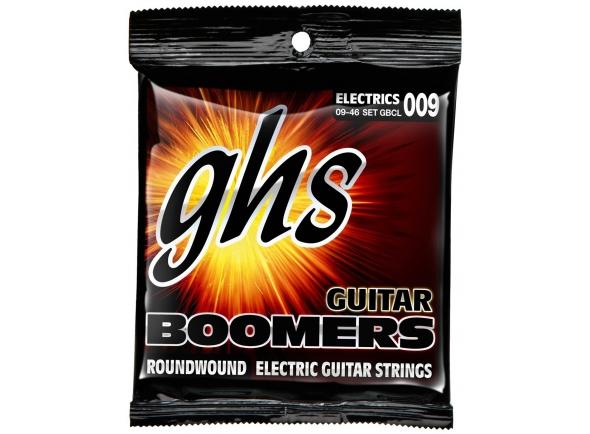 Jogo de cordas .009 GHS GBCL-Boomers