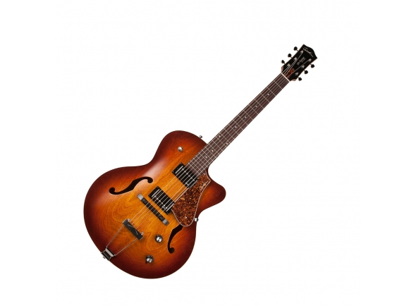 Guitarras formato Hollowbody Godin 5th Avenue CW Kingpin II Cognac Burst
