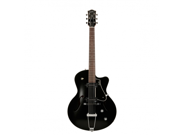 Guitarras formato Hollowbody Godin 5th Avenue CW Kingpin II Black
