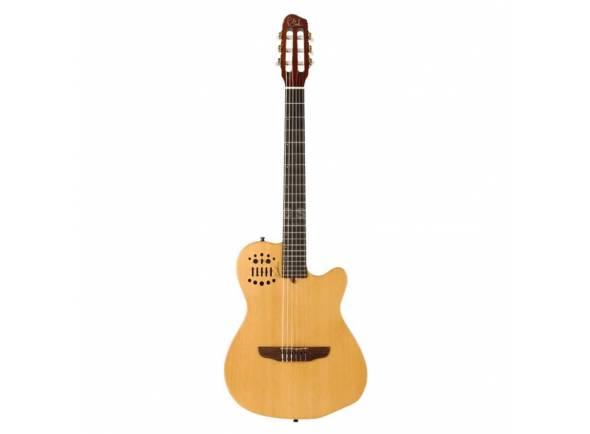 Guitarra Clássica (adulto) 4/4/Guitarras clássicas eletrificadas Godin ACS Cedar Natural SG