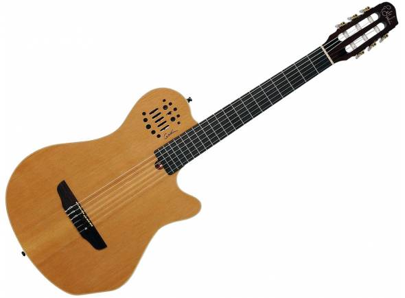 Guitarras clássicas eletrificadas Godin ACS Natural