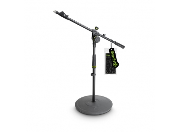 Suporte para microfone Gravity MS 2222 B