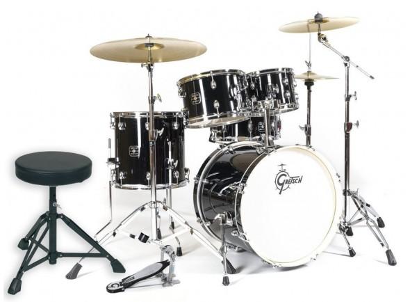 Baterias Acústica Completa/Conjunto de bateria completo Gretsch Drums Energy Studio Black
