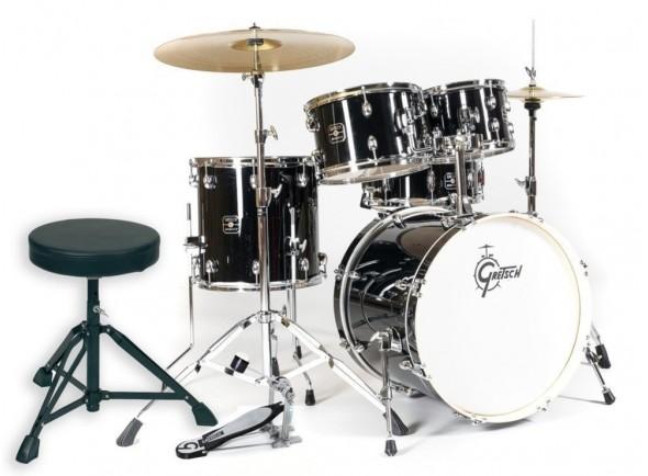 Bateria Acústica/Conjunto de bateria completo Gretsch Drums Energy Black
