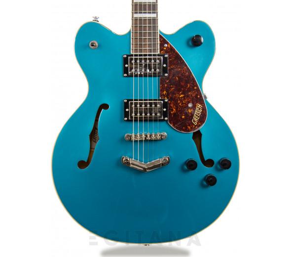 Guitarras formato Hollowbody Gretsch G2622 Streamliner Center Block V-Stoptail LRL Ocean Turquoise