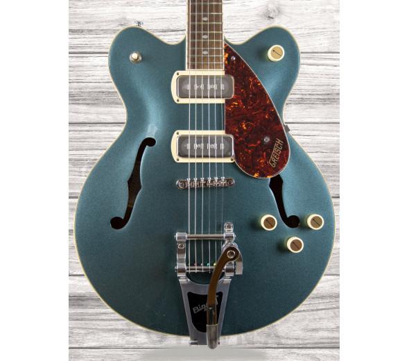 Guitarras formato Hollowbody Gretsch  G2622T-P90 Strml CB DC GunMet.