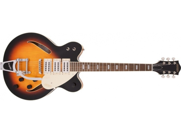 Guitarra elétrica hallowbody/Guitarras formato Hollowbody Gretsch G2627T Streamliner CB DC 3PU Bigsby ABB Limited