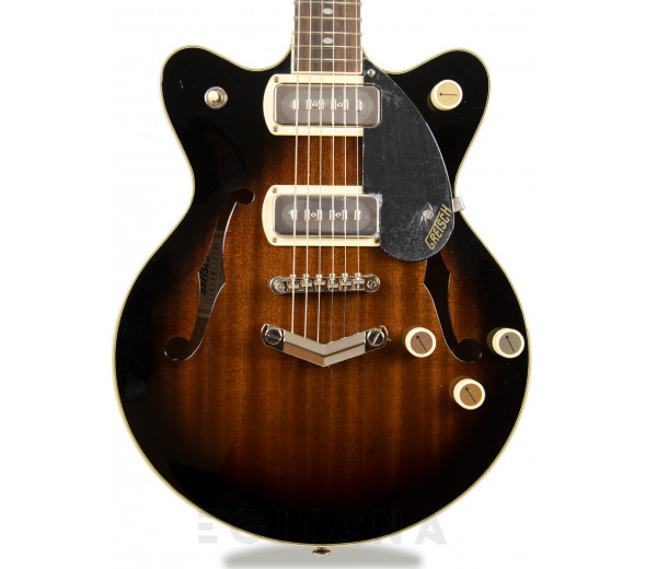 Guitarras formato Hollowbody Gretsch  G2655-P90 CB Jr. DC V Br.Stone