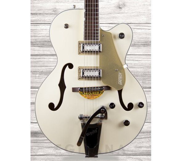 Guitarras formato Hollowbody Gretsch  G5410T Limited Edition Tri-Five Bigsby RF Two-Tone Vintage White/Casino Gold