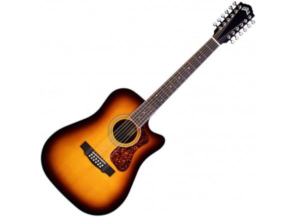 Guitarras acústicas de 12 cordas Guild D-2612CE Deluxe ATB