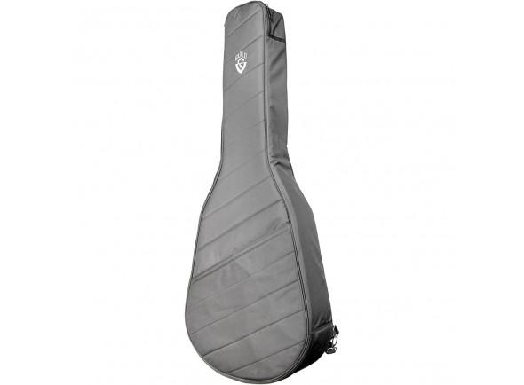 Estojo para Guitarra Dreadnoght Guild Deluxe Acoustic Gig Bag Concert Black
