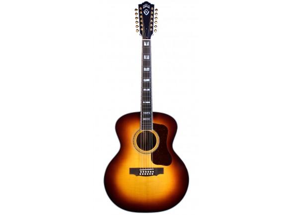 Guitarras acústicas de 12 cordas Guild F-512E ATB