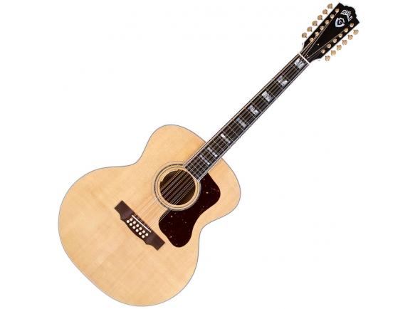 Guitarras acústicas de 12 cordas Guild F-512E