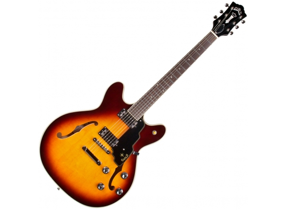 Guitarras formato ST Guild Starfire IV ST Antique Burst