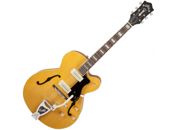 Guitarras formato Hollowbody Guild X-175B Manhattan Blonde