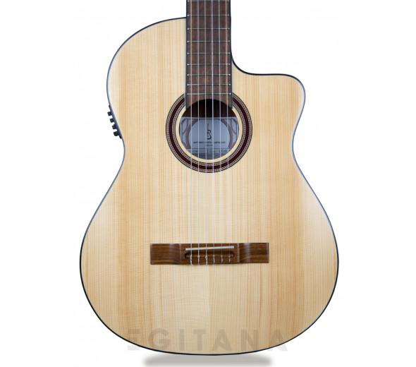 Guitarras clássicas eletrificadas APC 1F CW
