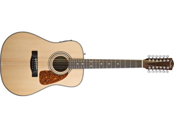 Guitarra Folk de 12 cordas/Guitarras Dreadnought Fender CD160SE/12 NAT