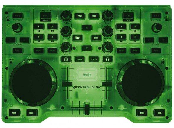 Ver mais informações do Controladores DJ Hercules DJ Control Glow