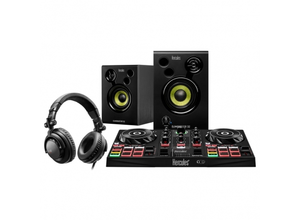 Controladores DJ Hercules DJ Learning Kit