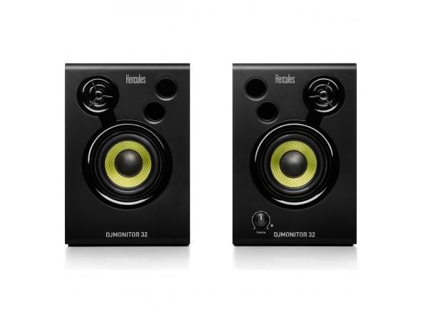 Monitores de estúdio activos Hercules DJ Monitor 32