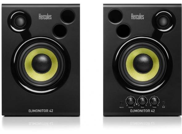 Monitores de estúdio activos Hercules DJ Monitor 42