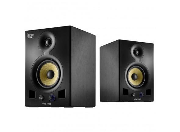 Monitores de estúdio ativos/Monitores de estúdio activos Hercules DJ Monitor5