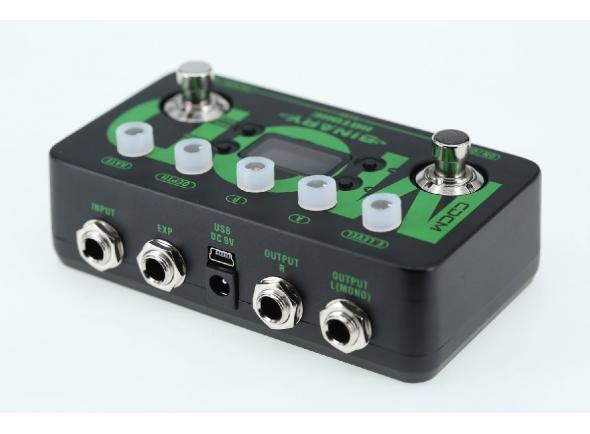 Outros efeitos para guitarra elétrica HoTone Binary Mod