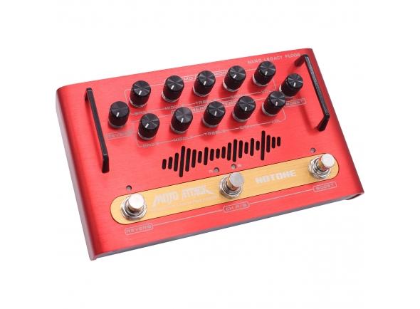 Cabeças de Guitarra a transístor HoTone Mojo Attack Pedal Amp