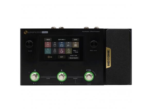 Pedaleira para guitarra elétrica/Pedaleiras para guitarra elétrica HoTone  MP-80 Ampero One Multi-Effects Pedal