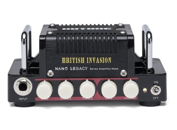 Cabeças para guitarra eléctrica HoTone Nano Legacy British Invasion