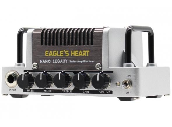 Cabeças para guitarra eléctrica HoTone Nano Legacy Eagle's Heart
