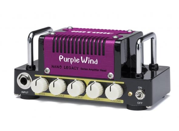 Cabeças para guitarra  HoTone Nano Legacy Purple Wind