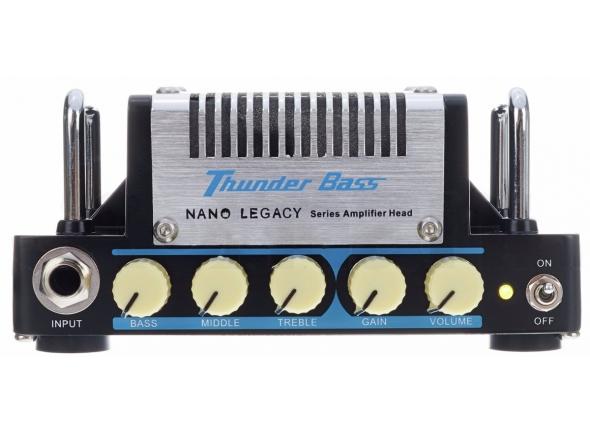 Cabeças de Baixo a Transístor HoTone Nano Legacy Thunder Bass