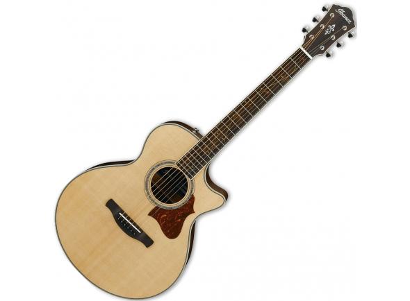 Outras guitarras acústicas Ibanez AE205JR-OPN OPEN PORE NATURAL