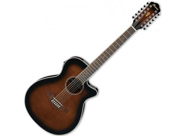 GUITARRAS WESTERN DE 12 CORDAS/Outras guitarras acústicas Ibanez AEG1812II-DVS