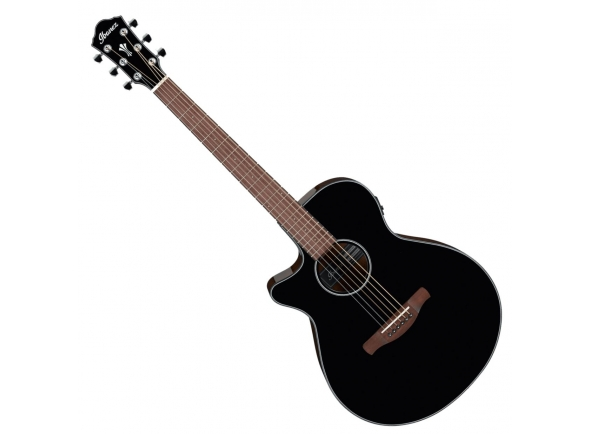 Guitarras acústicas para esquerdinos Ibanez AEG50L-BKH