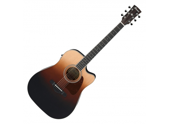 Guitarras Dreadnought Ibanez AW80CE-BLG
