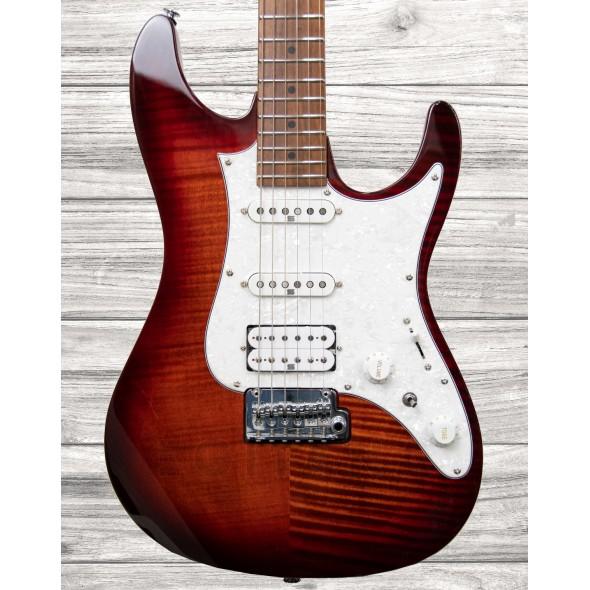Guitarras formato ST Ibanez AZ224F-BTB Brown Topaz Burst