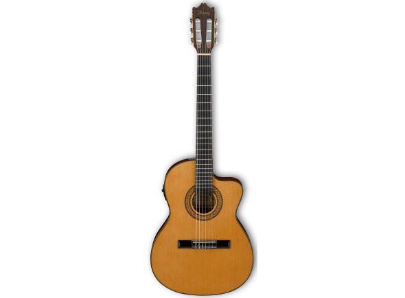 Guitarras clássicas eletrificadas Ibanez GA5TCE-AM B-Stock