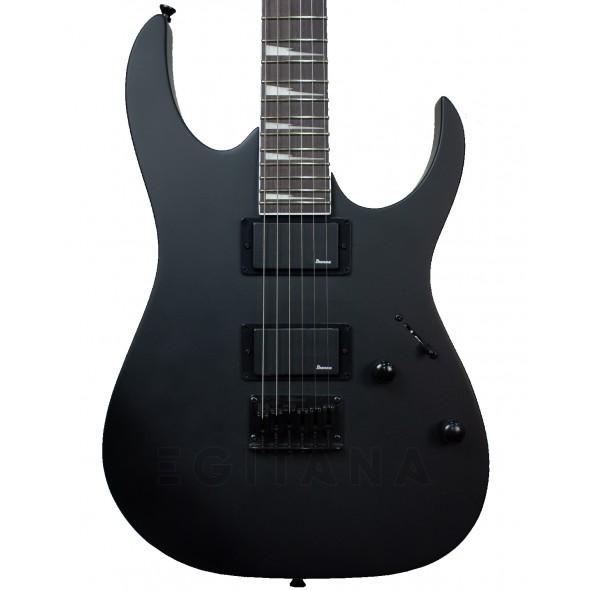 Guitarras formato ST Ibanez GRG121DX Black Flat