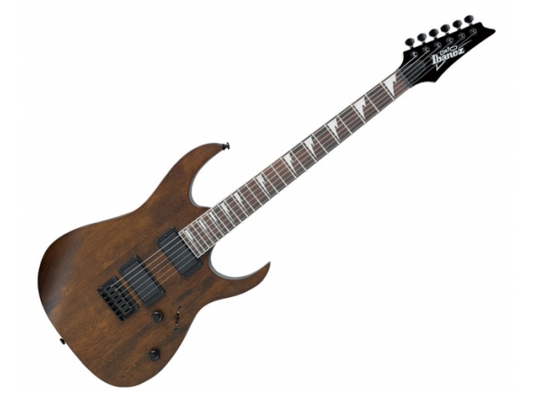 Guitarras formato ST Ibanez GRG121DX Walnut Flat
