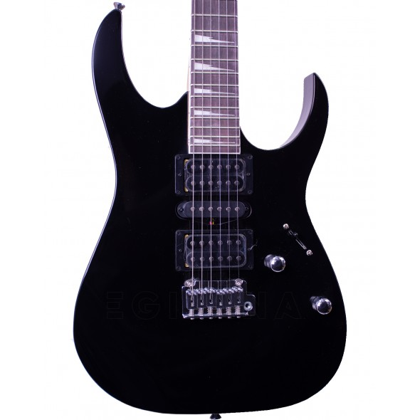 Guitarras formato ST Ibanez GRG170DX-BKN
