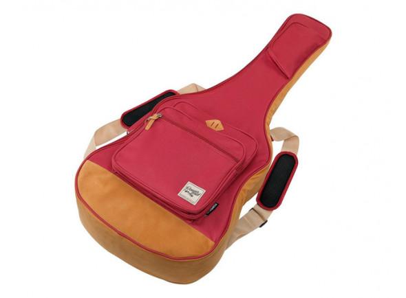 Saco para guitarra clássica 4/4/Saco para Ukulele Ibanez  ICB541-WR Powerpad Gigbag