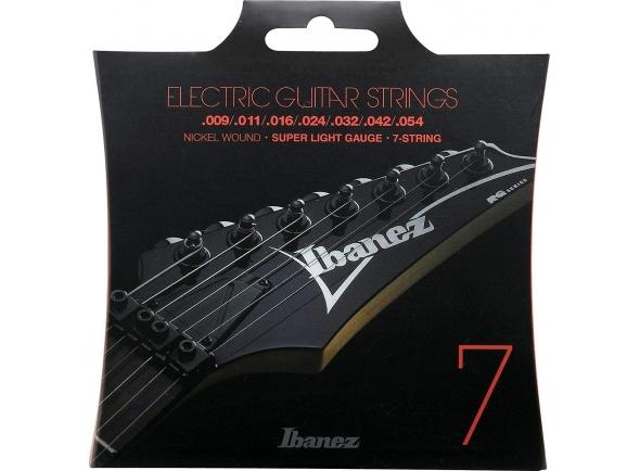 Jogo de cordas .009 Ibanez IEGS7 E-Guitar String Set .009-.054