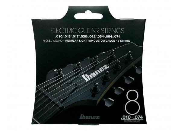 Jogo de Cordas para Guitarra Elétrica/Jogo de cordas .010 Ibanez  IEGS81 010-074
